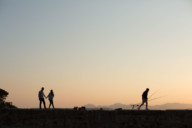 photographe+grossesse+nice+ antibes+plage+coucher de soleil+ventre rond+douceur+thomas paulet+photo